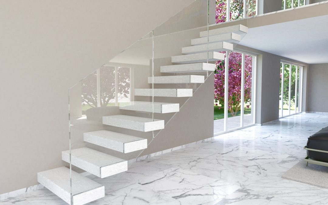 Modern stairs for interiors | The stair Swing version 100