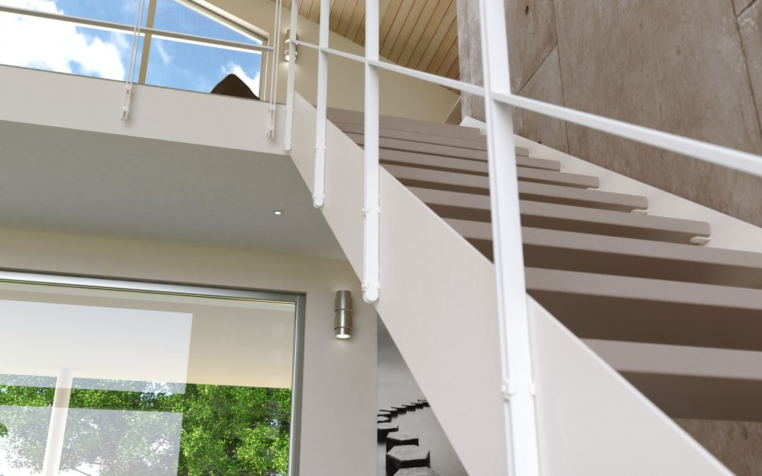 QUBIT │ Railing and balustrade