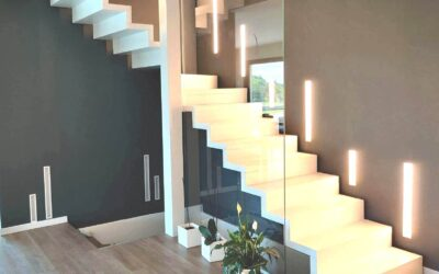 SWING with closed raiser | Suspended staircase